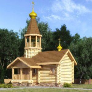 Cрубы часовен и церквей